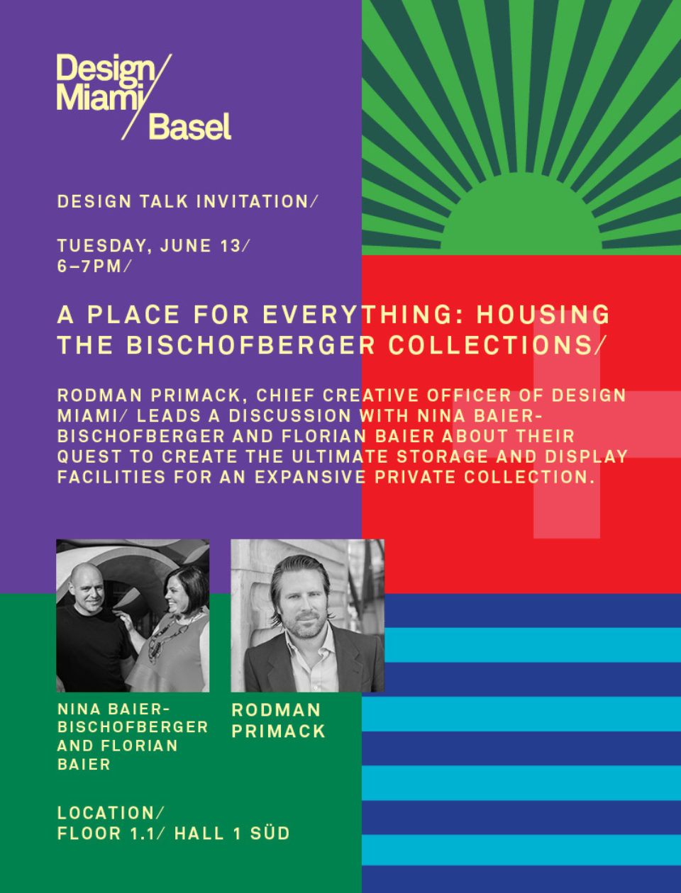 Speaking at Design Miami / Basel